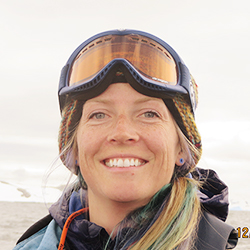 Allison Lee, Polar Specialist and Oceanographer, in Antarctica21's Expedition Team