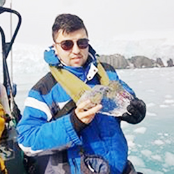 Byron Canto, Logistics Assistant, in Antarctica21's Operations team