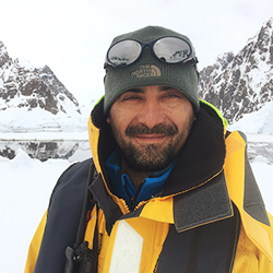 Fernando Diaz, Polar Specialist and Ornithologist, in Antarctica21's Expedition Team
