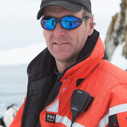 Graeme Snow, Polar Specialist and Naturalist, in Antarctica21's Expedition Team