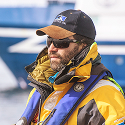 Mariano Curiel, Director of Expedition Operations, in Antarctica21's Expedition Team