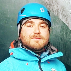 Jakob Potrawiak, Mountain Guide, in Antarctica21's Expedition Team