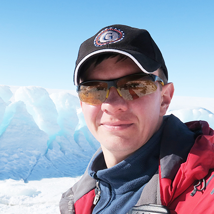 Sergei Sakharov, Head of Expedition Logistics, in Antarctica21's Expedition Team