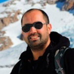 Pablo Zenteno, Geographer & Glaciologist, in Antarctica21's Expedition Team