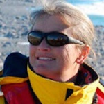 Wendy Hare, Naturalist, in Antarctica21's Expedition Team