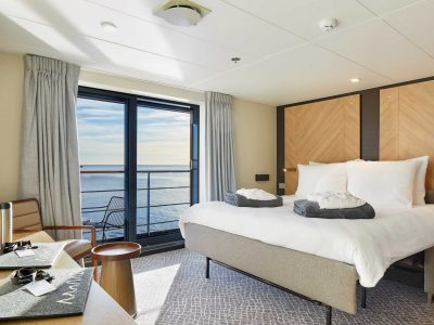 Triple Suite Cabin on board Magellan Explorer. Photography by Tom Arban.